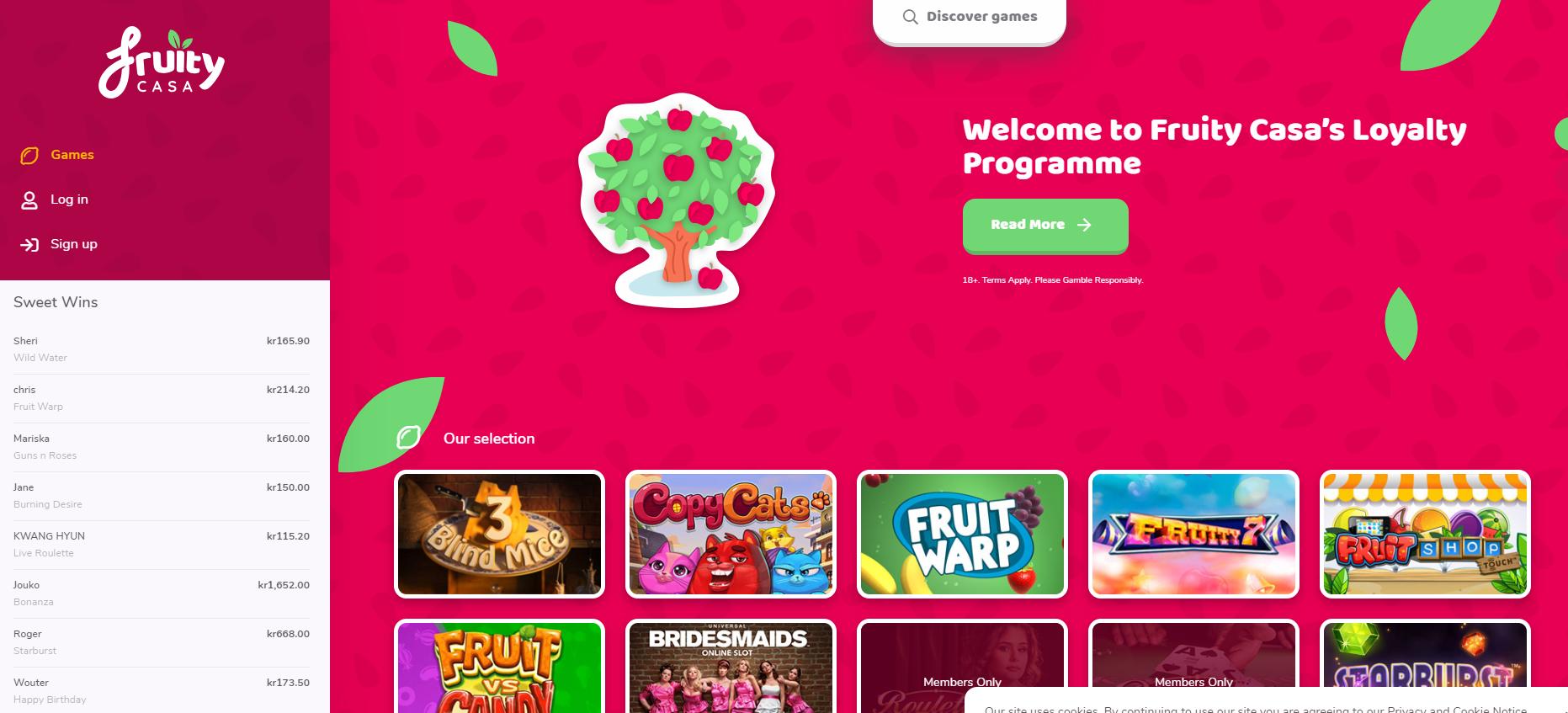 Fruit spins spelautomater - 70330