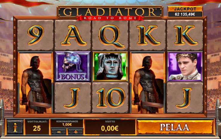 Progressiv jackpott Gladiator - 81378