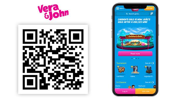 Verajohn mobile casino - 84902
