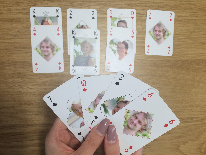 Kortspel slå på - 48321