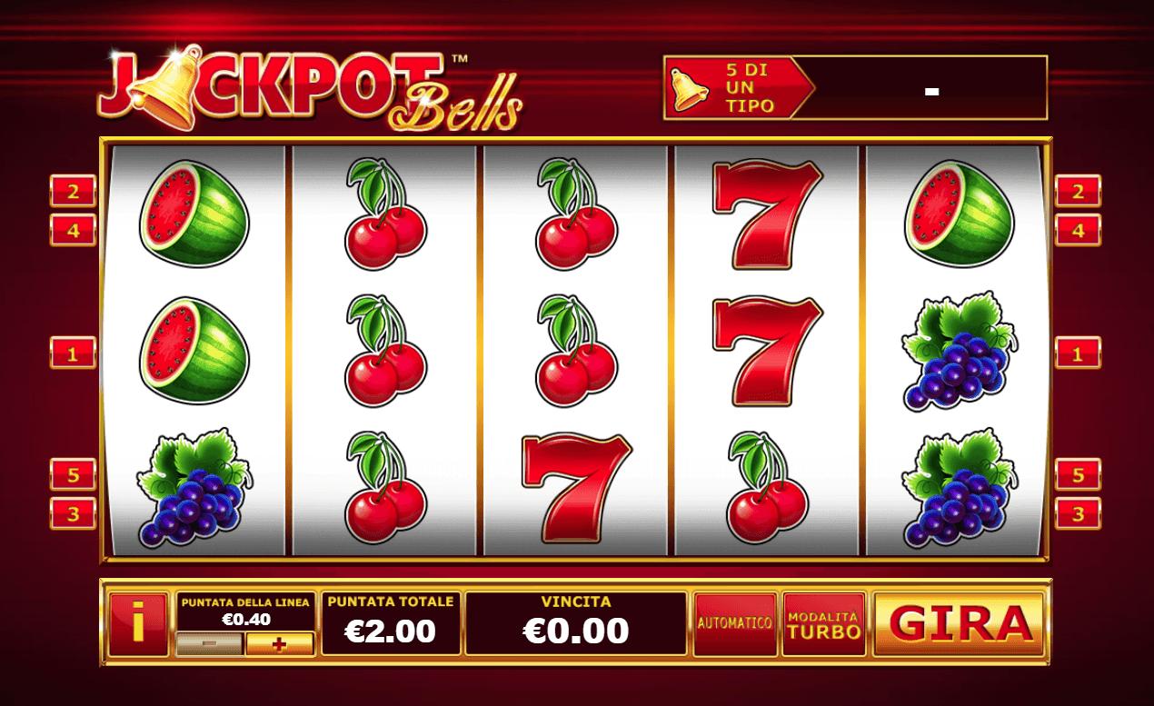Virtual Jackpot Bells - 44247
