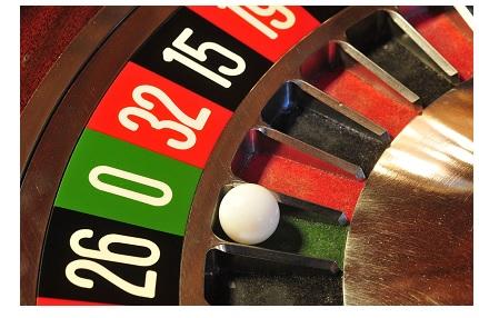 Roulette grön - 39570