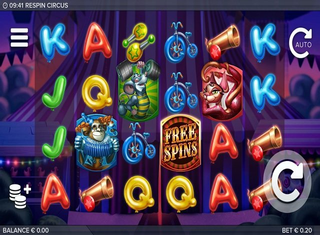 Circus free spins - 64142