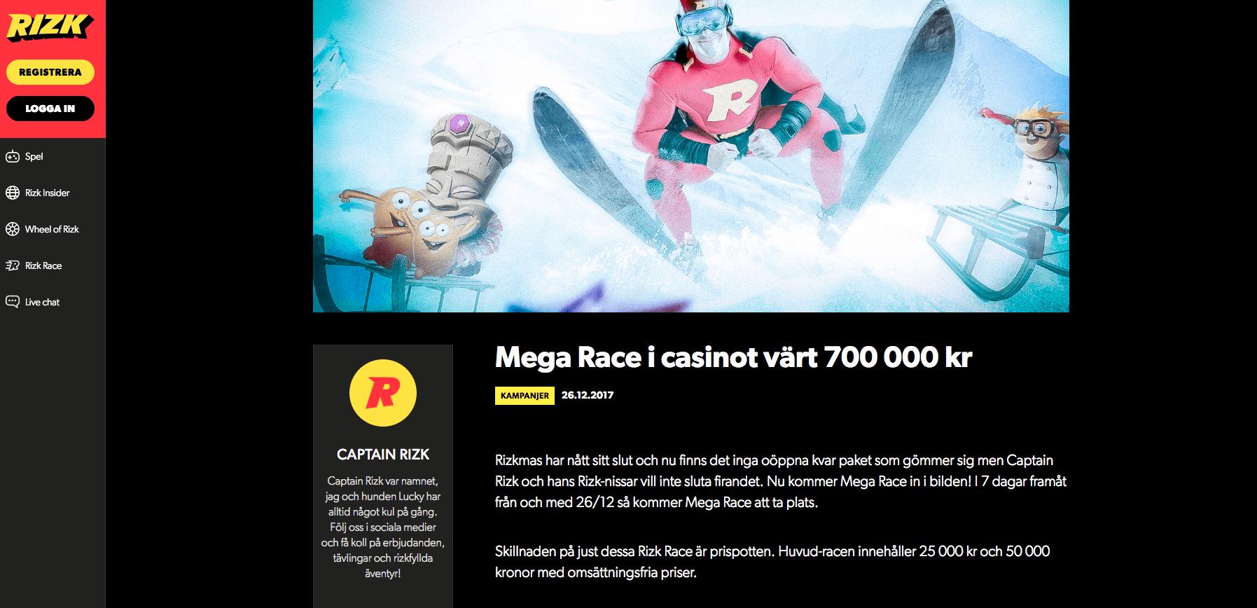 Vann casinotävlingen Surf - 98913