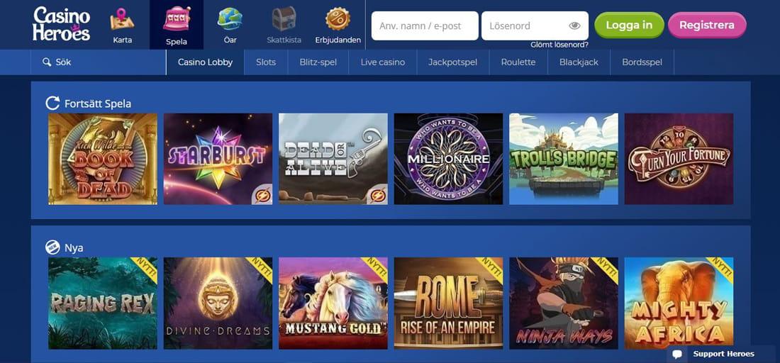 Casino heroes recension - 87490