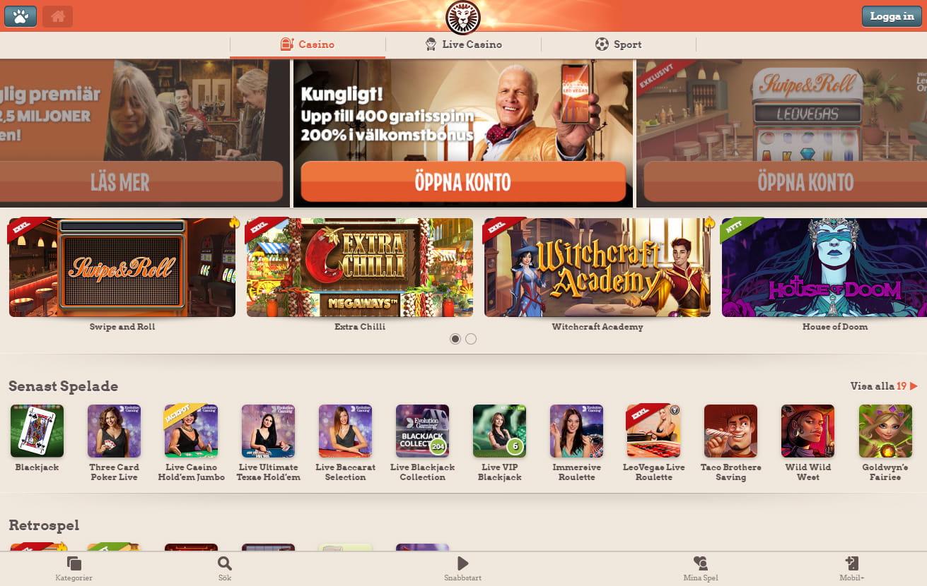 Mobil casino - 26926