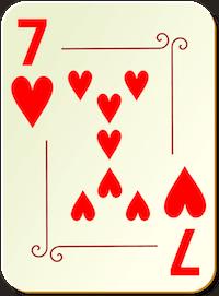 Dam kortspel - 59005
