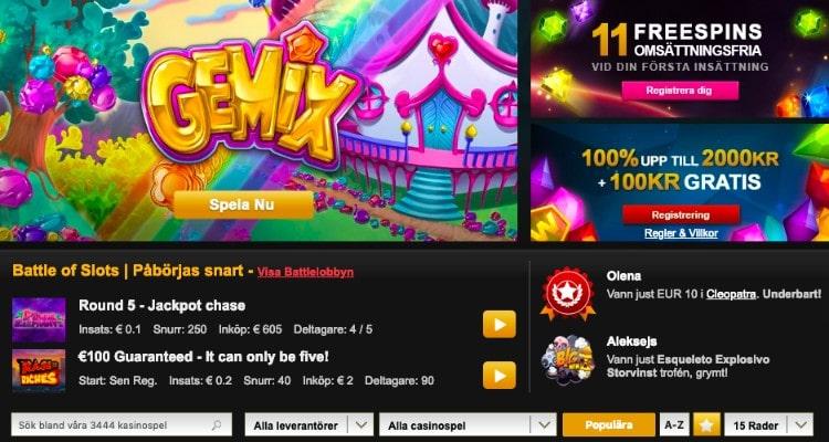 Casino välkomstbonusar - 21355