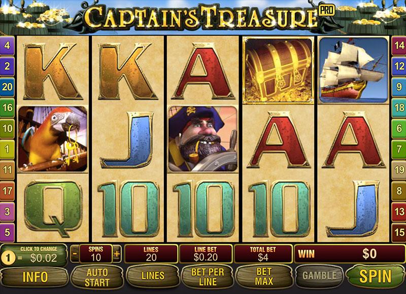 Video Captain Treasure - 50852