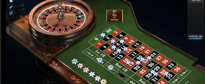 Amerikansk roulette - 73594