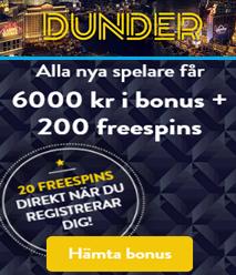 Dunderbonus till - 76879