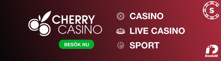 Cherry casino välkomstbonus - 45620