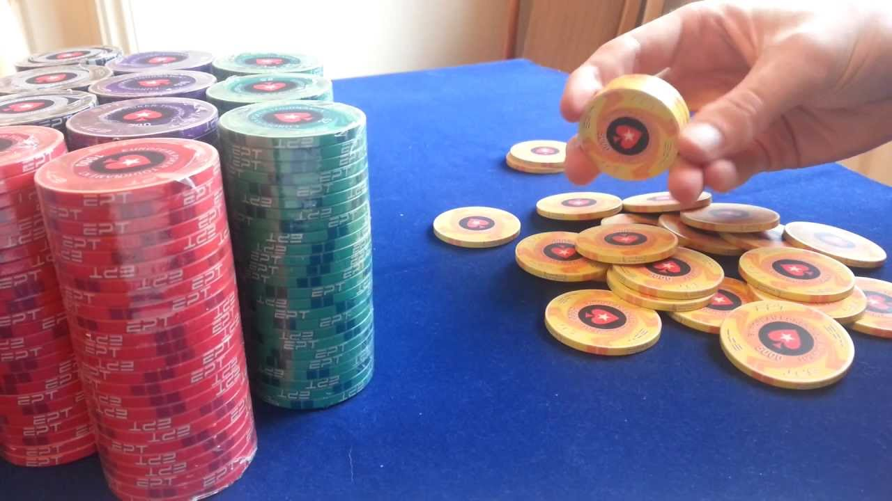Poker chips - 43924