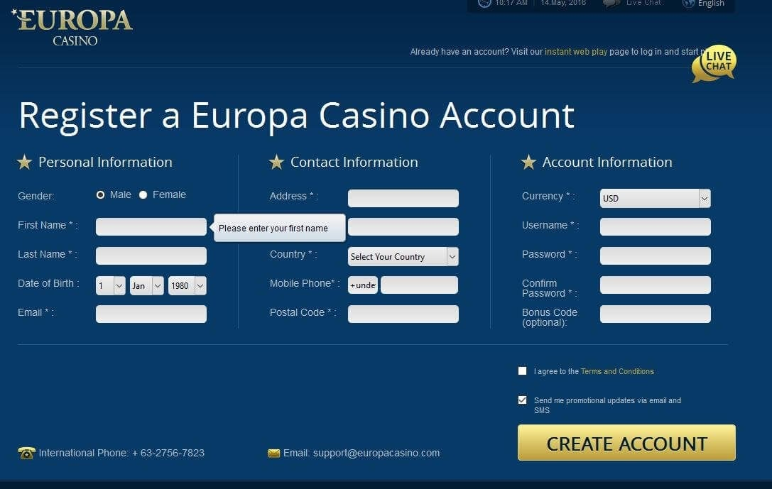 Odds betting - 16094