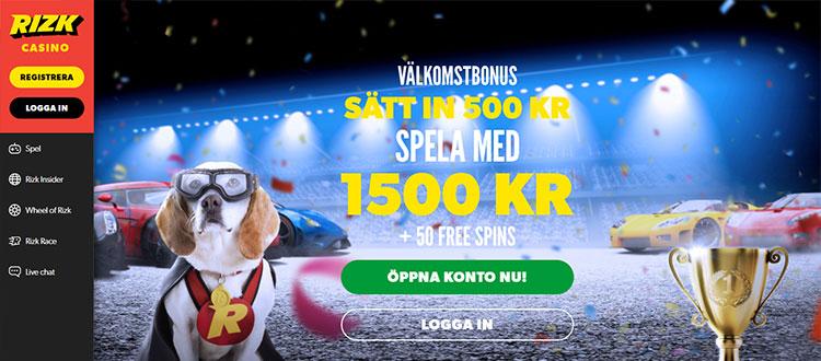 Casinon med Svensk - 99285