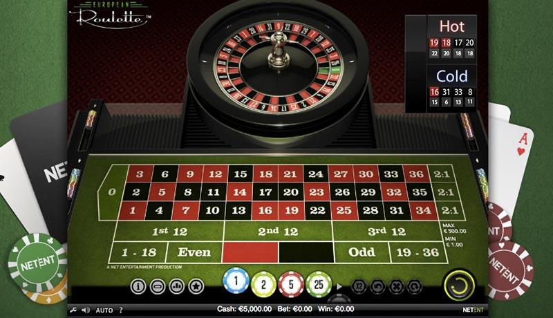 Roulette grön - 43185