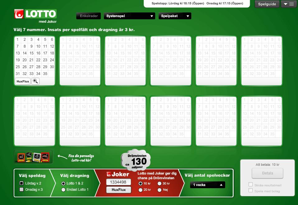 Eurojackpot resultat - 16365