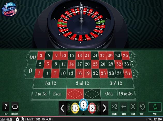 Amerikansk roulette - 55379