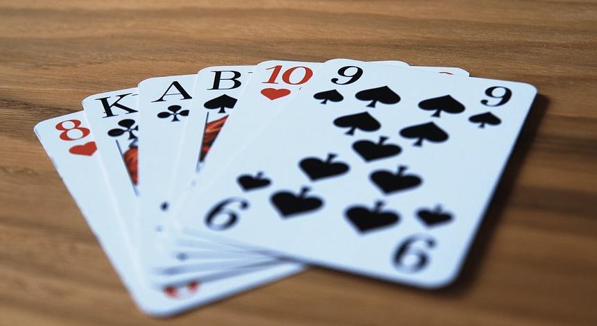 Dam kortspel - 28507