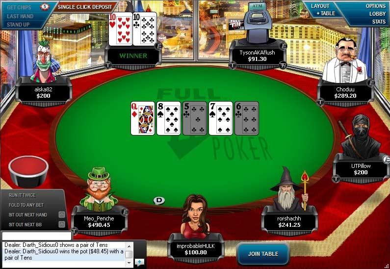 Full tilt poker - 15857