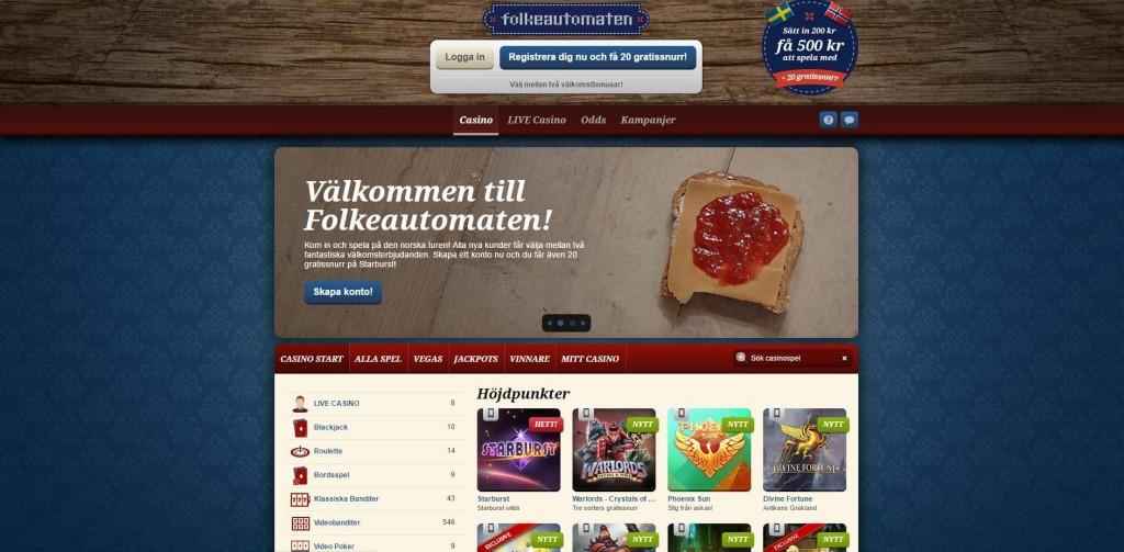 Norska spelsidor - 61704