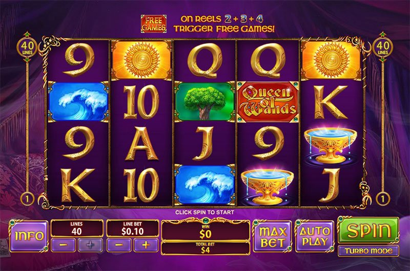 All microgaming Queen - 72261