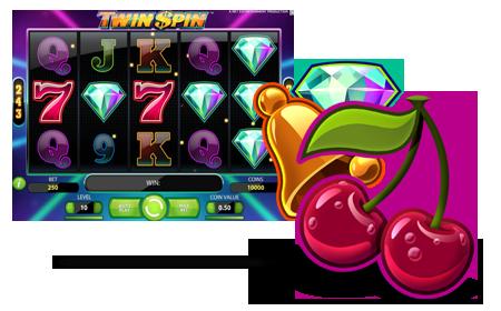 Bonusspel spelautomater Twin - 97344