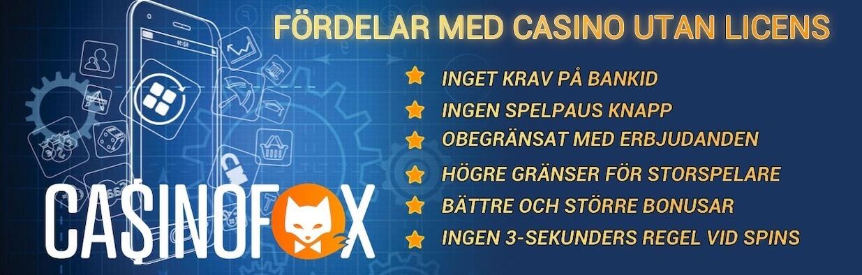 Casino utan - 65490