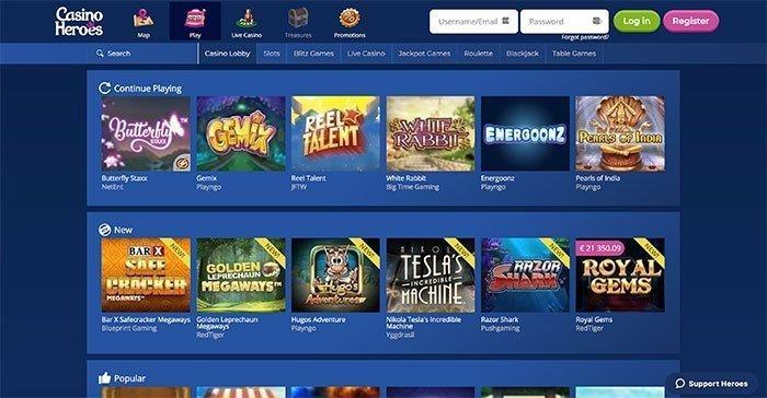 Casino heroes recension - 80261