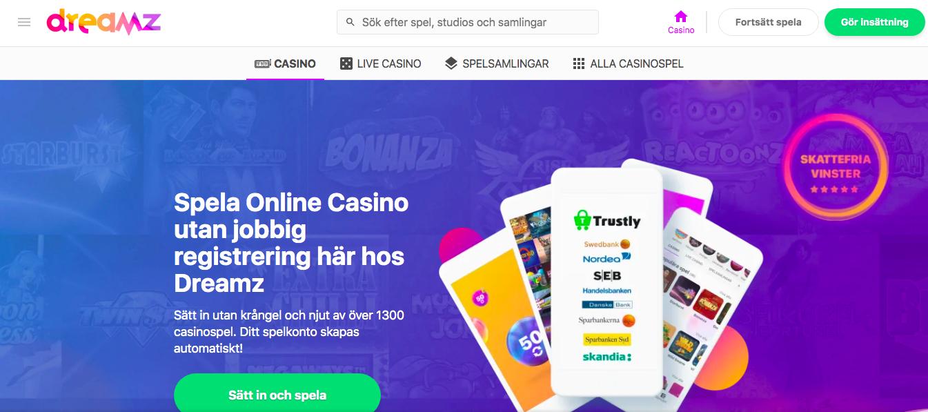 Casino med snabba - 25163
