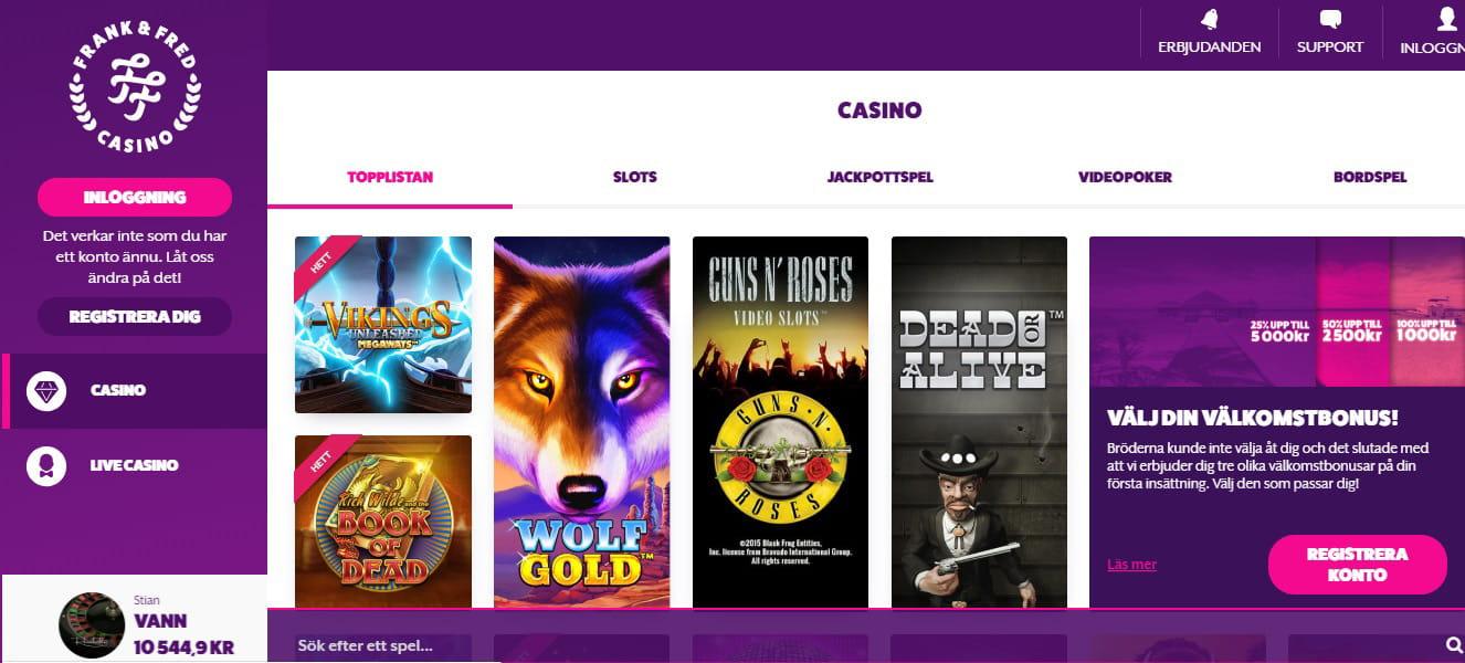 Casino official website - 87126