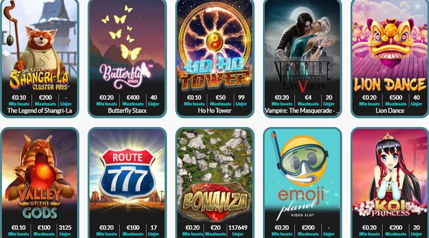 Casino omsättningskrav - 50285