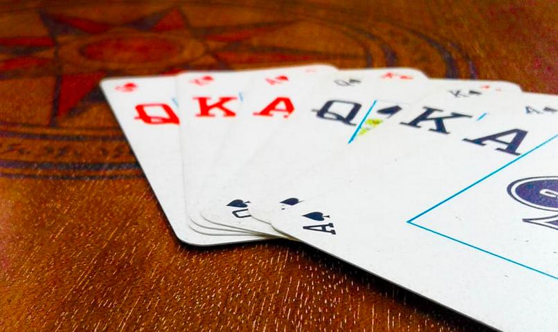 Dam kortspel - 13681