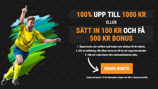 Odds bonus utan - 76266
