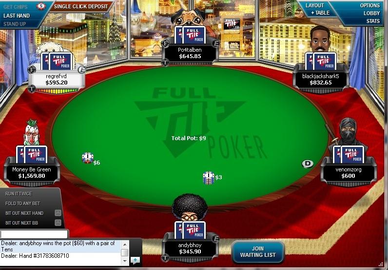 Full tilt poker - 16288