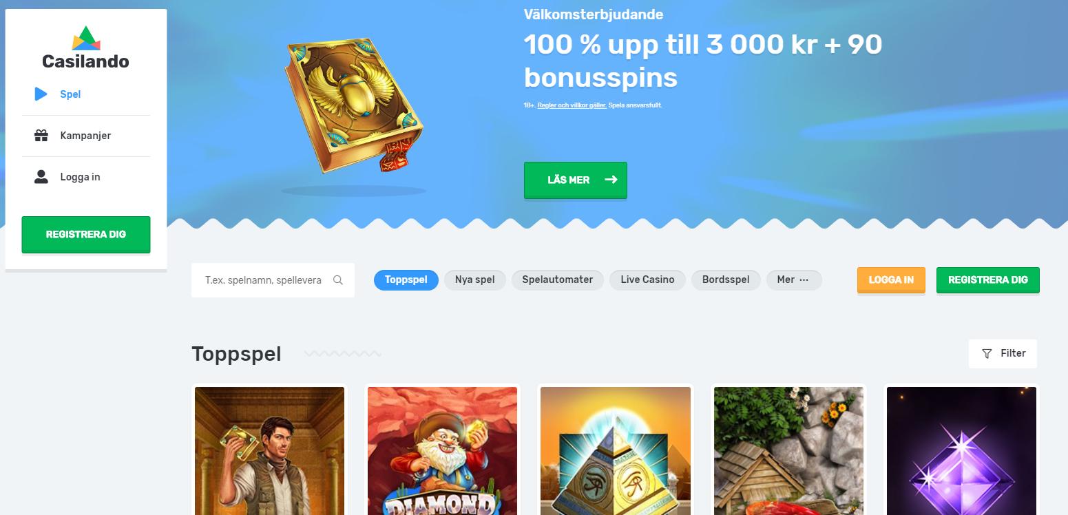 Jämför Svenska casino - 80787