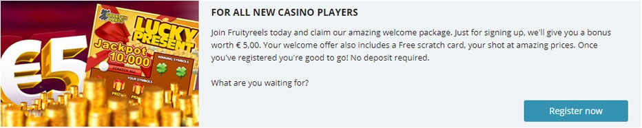 No deposit bonus - 52300