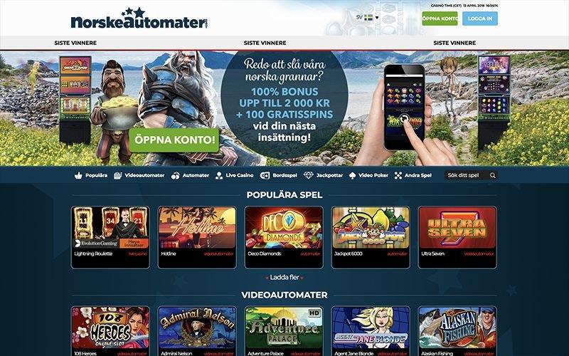 Norske automater sätt - 24464