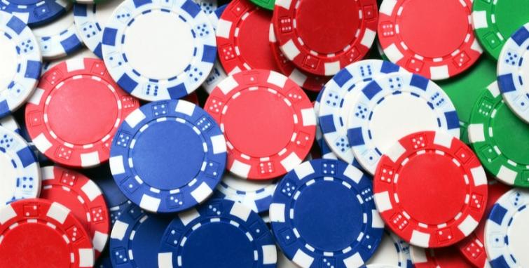 Poker chips - 77795