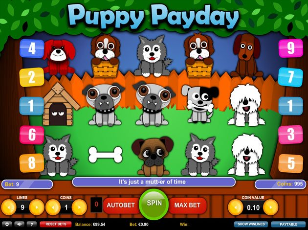 Puppy Payday Slot - 41474