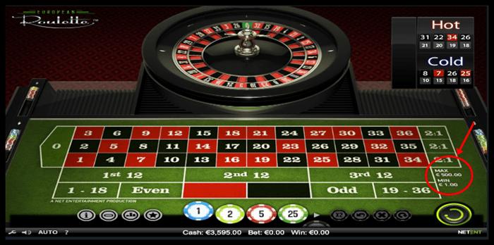 Roulette grön - 73065