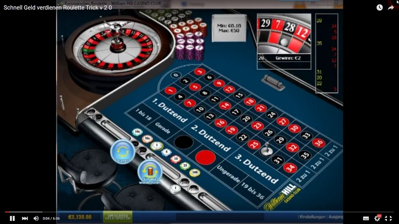 Roulette system - 98959