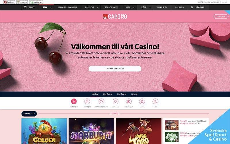 Svenska spel insättningsgräns - 10626