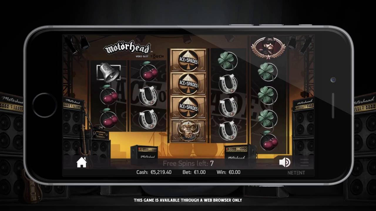Video Motorhead slot - 88106